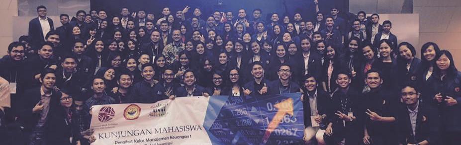 Fieldtrip Fakultas Ekonomi ke Bursa Efek Indonesia 2017/2018